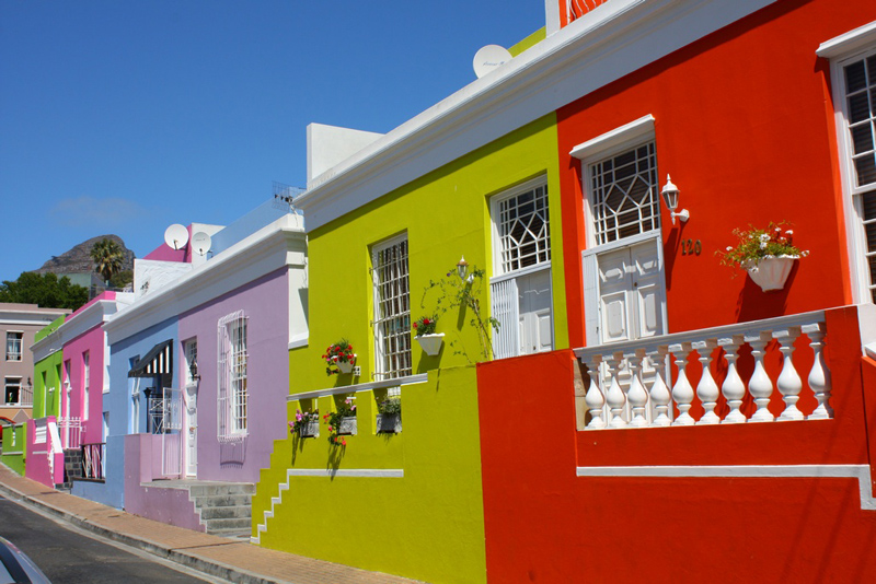 Bo-Kaap, Cape Quarter Houses, Cape Town