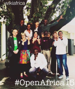 #OpenAfrica15 delegates, trainers and organisers. Image: Linda Baker