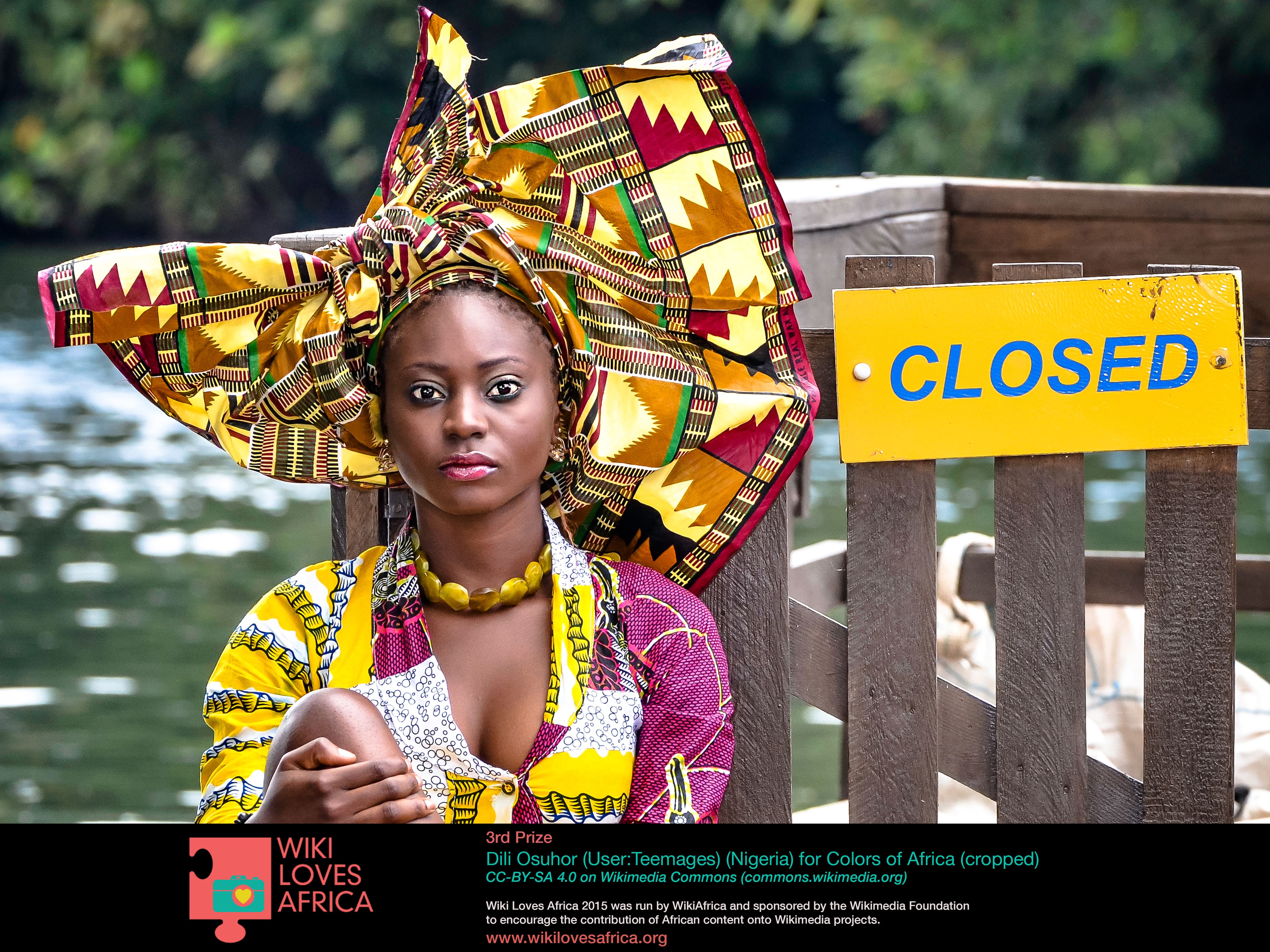 3rd Prize Winner: Colours of Africa